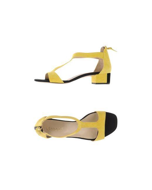 Jeannot | Женские Жёлтые Сандалии
