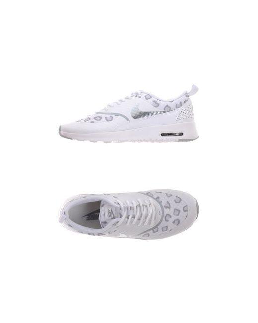 Nike   Женские Белые Низкие Кеды И Кроссовки