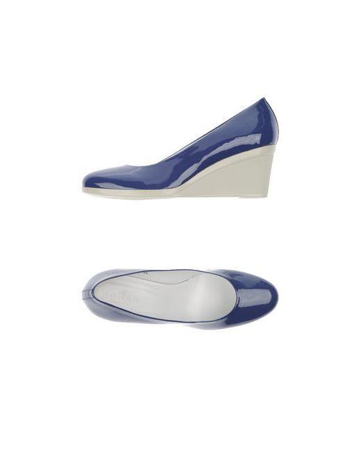 Hogan | Женские Фиолетовые Туфли