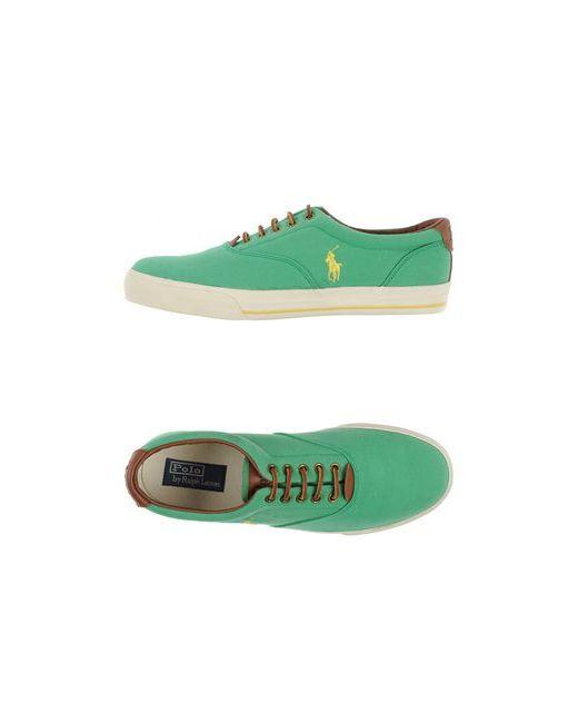 Polo Ralph Lauren | Женские Зелёные Низкие Кеды И Кроссовки