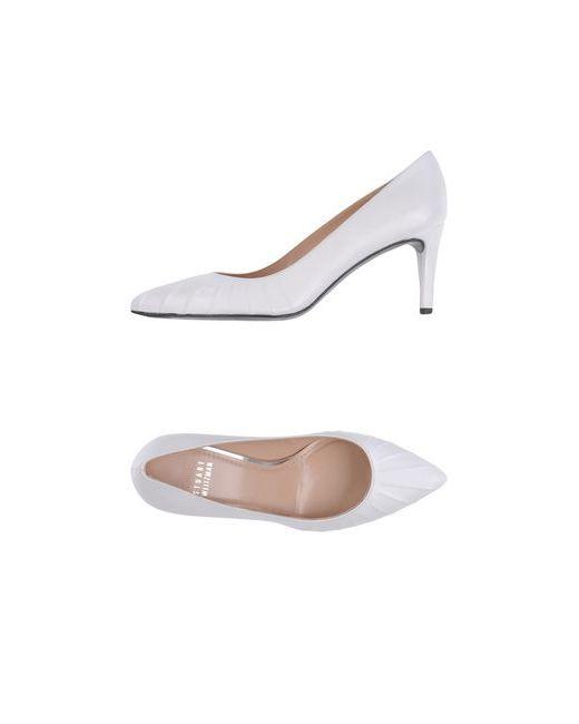 Stuart Weitzman   Женские Белые Туфли