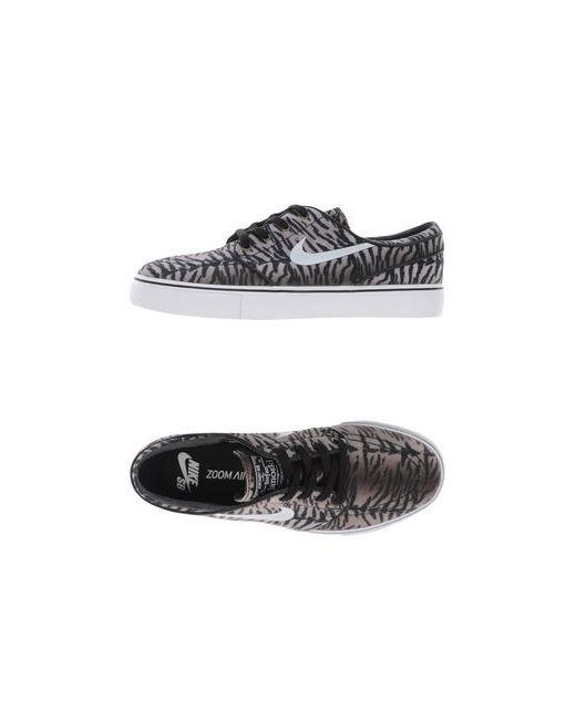 Nike | Мужские Серые Низкие Кеды И Кроссовки