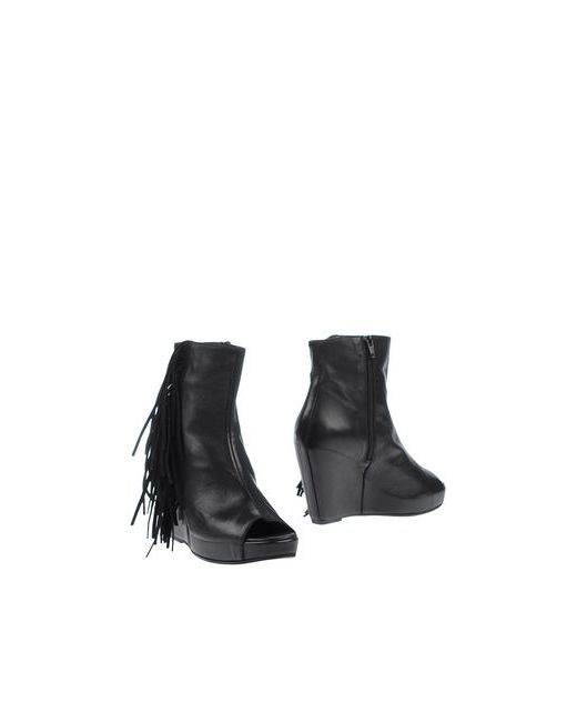 Jfk | Женские Чёрные Полусапоги И Высокие Ботинки