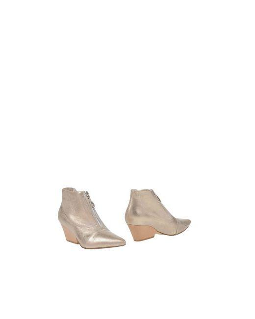 Lella Baldi | Женские Платиновые Полусапоги И Высокие Ботинки
