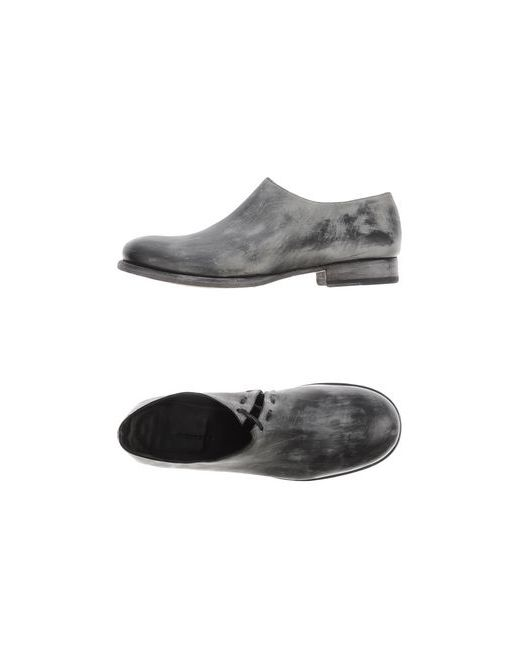Masnada | Мужская Серая Обувь На Шнурках