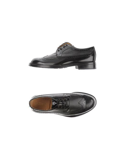 Scíccò | Мужская Чёрная Обувь На Шнурках