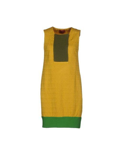 Missoni | Женское Охра Короткое Платье