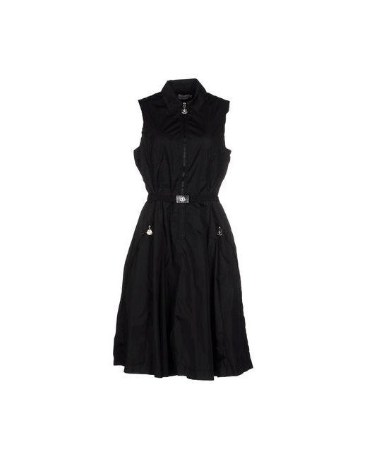 Moncler   Женское Чёрное Короткое Платье