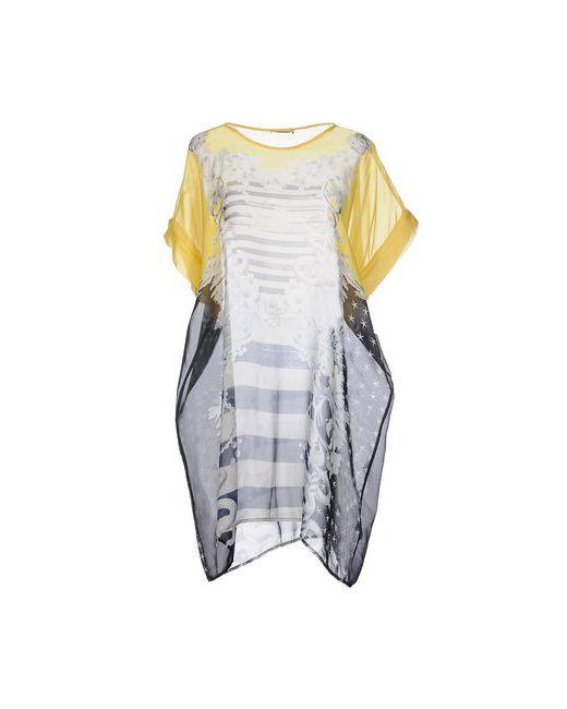 Emma Cook | Женское Жёлтое Короткое Платье