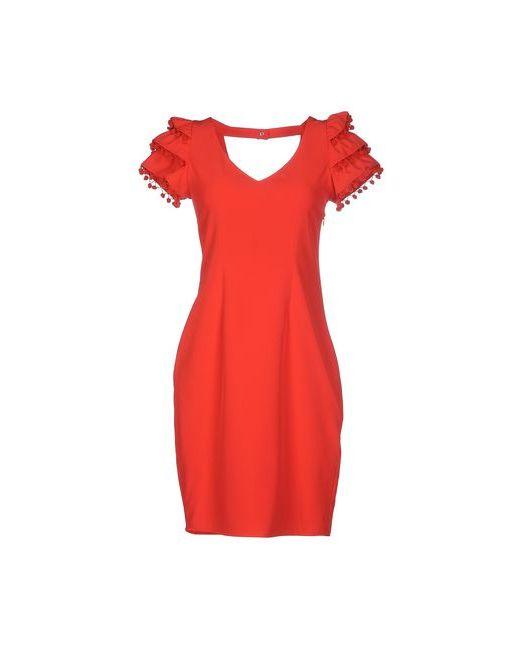 BeaYukMui | Женское Красное Короткое Платье