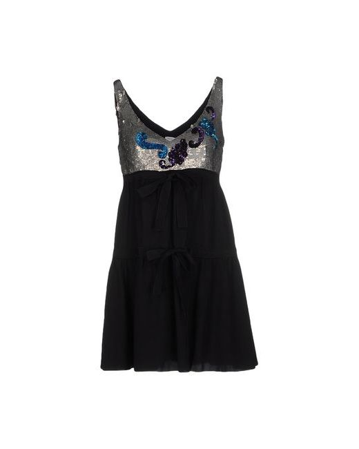 Missoni | Женское Чёрное Короткое Платье