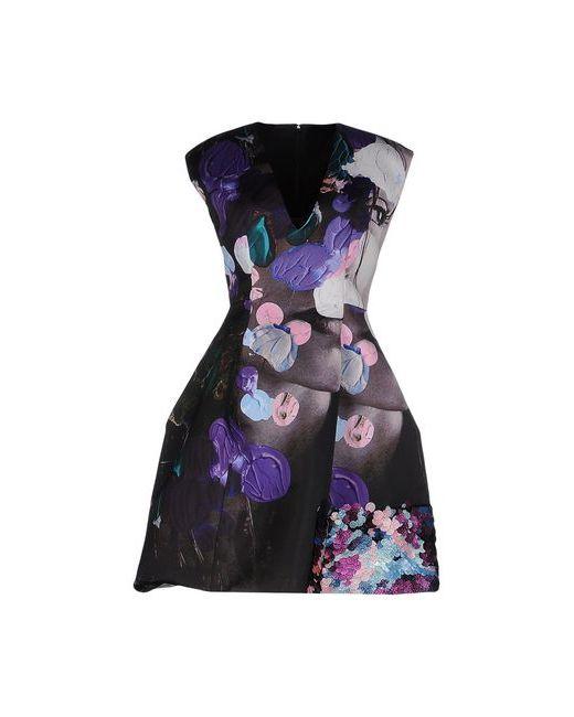 MSGM   Женское Фиолетовое Короткое Платье