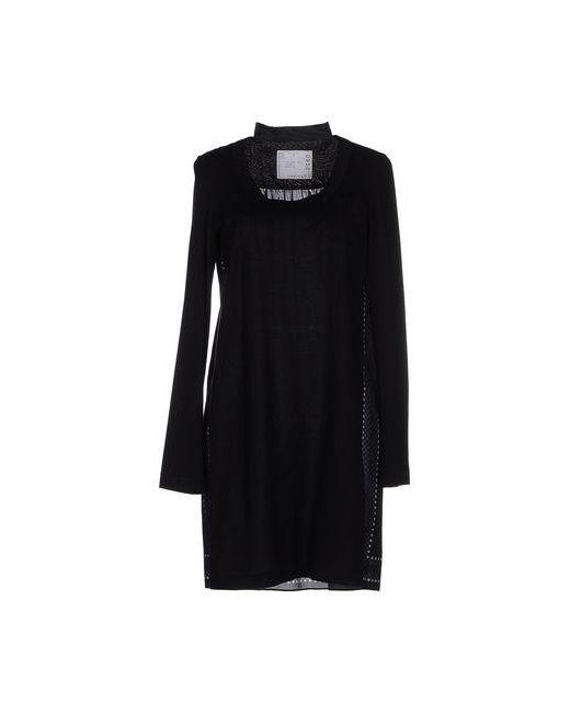Sacai   Женское Чёрное Короткое Платье