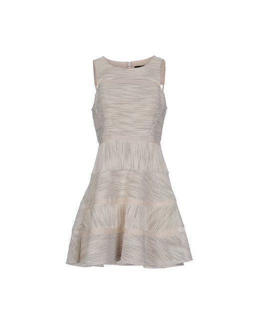 Tibi   Женское Слоновая Костящее Короткое Платье