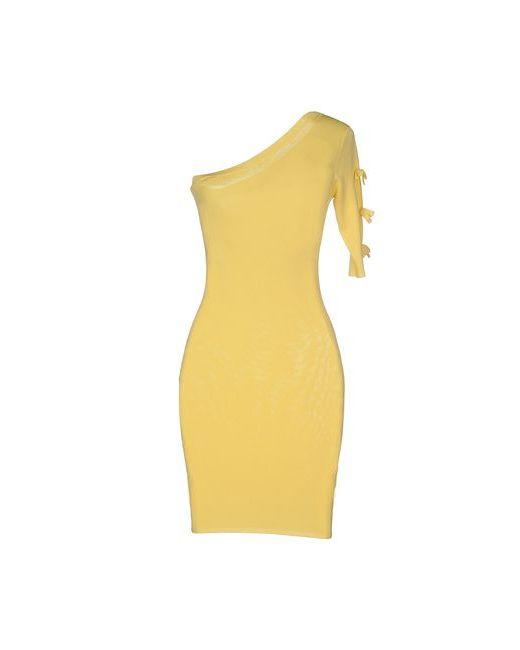 ELISABETTA FRANCHI   Женское Жёлтое Короткое Платье