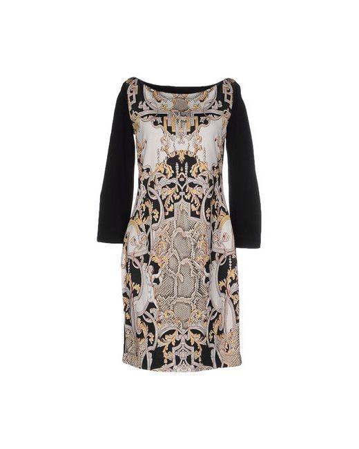 Just Cavalli | Женское Чёрное Короткое Платье
