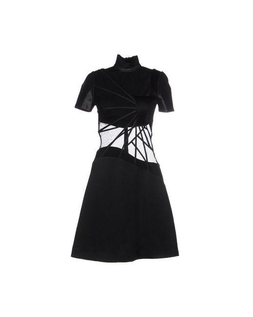 Christopher Kane | Женское Чёрное Короткое Платье