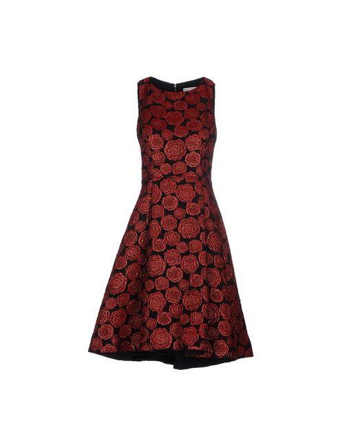 Alice + Olivia | Женское Красное Платье До Колена