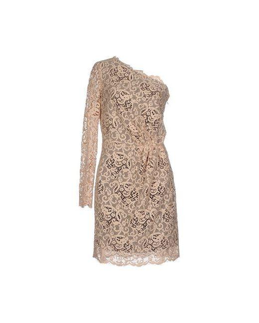 MSGM | Женское Бежевое Короткое Платье