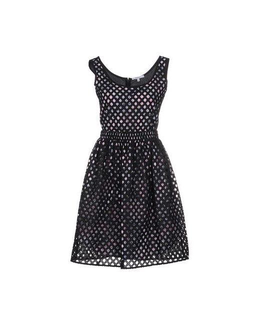 Carven | Женское Чёрное Короткое Платье