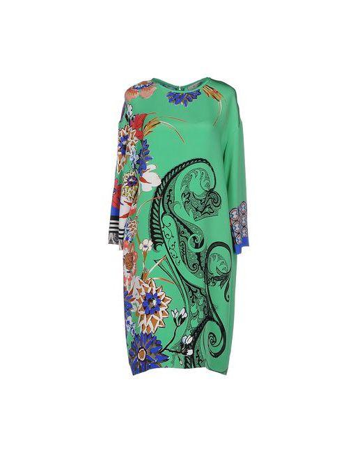 Etro | Женское Зелёное Короткое Платье