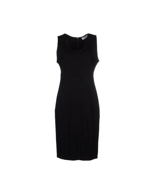Kaos | Женское Чёрное Платье До Колена