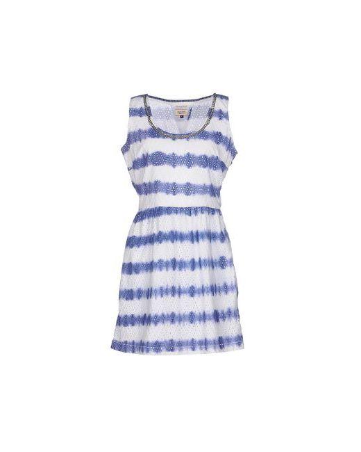 Tommy Hilfiger Denim | Женское Белое Короткое Платье