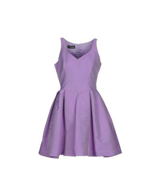 Gio' Guerreri   Женское Фиолетовое Короткое Платье