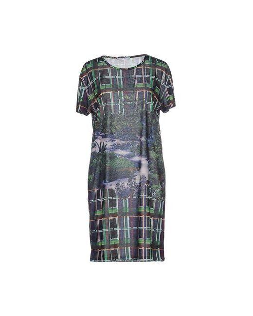 Carven | Женское Зелёное Короткое Платье