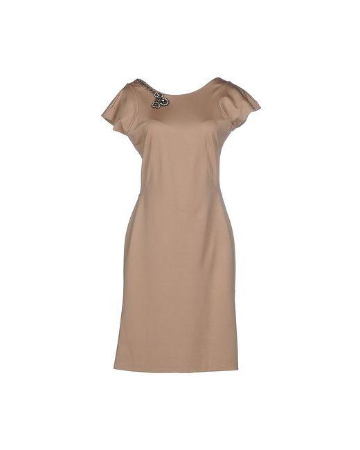 Scervino Street | Женское Песочное Короткое Платье