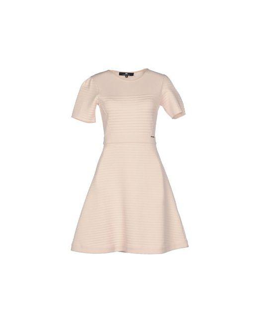 ELISABETTA FRANCHI | Женское Розовое Короткое Платье