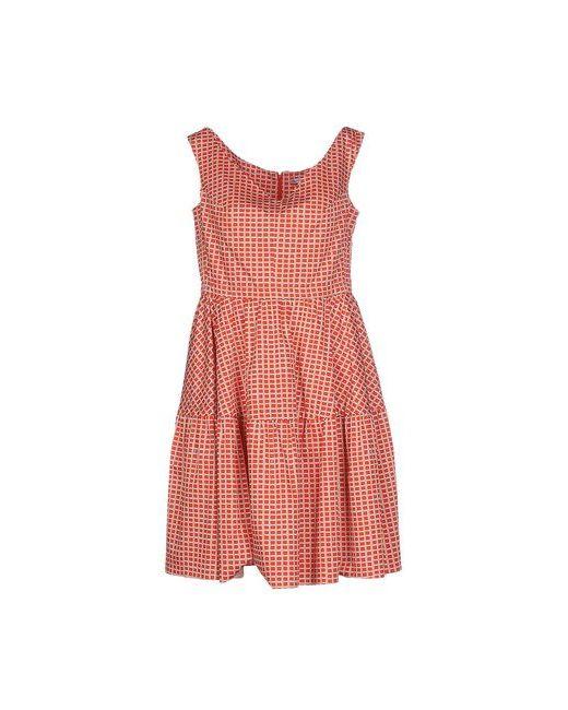 Carven | Женское Красное Короткое Платье