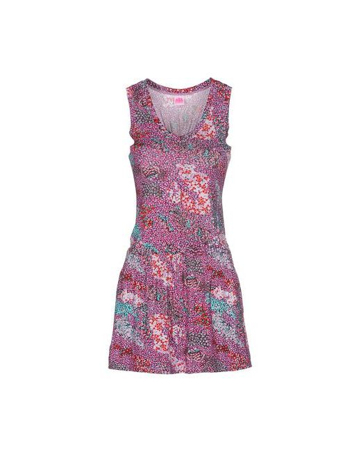 Sundek | Женское Розовое Короткое Платье