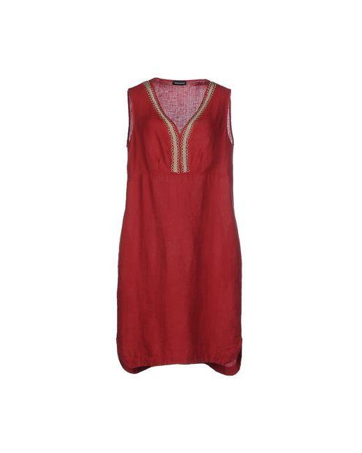Diana Gallesi   Женское Красное Платье До Колена