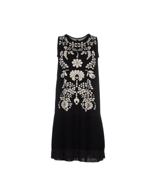 High   Женское Чёрное Короткое Платье