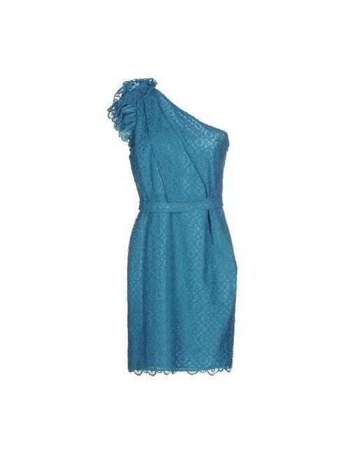 Space Style Concept | Женское Цвет Морской Волны Короткое Платье