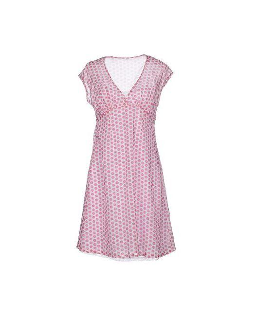 Ottod'Ame   Женское Фиолетовое Короткое Платье
