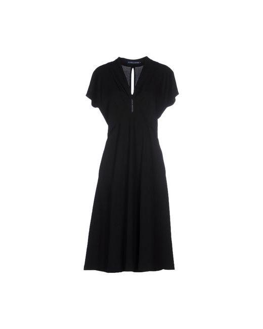 Ralph Lauren | Женское Чёрное Платье До Колена