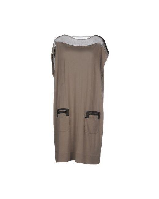 Aviù | Женское Серое Короткое Платье
