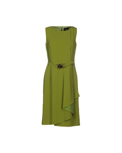 Class Roberto Cavalli   Женское Зелёное Короткое Платье