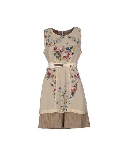 Dondup | Женское Бежевое Короткое Платье