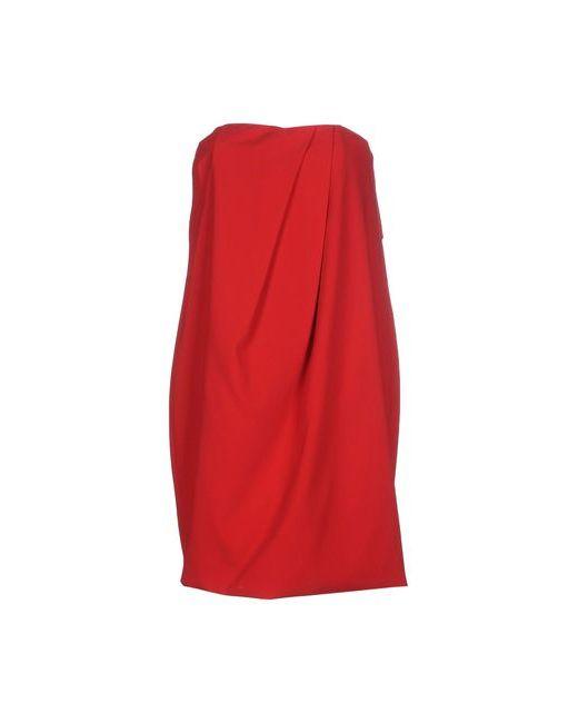 Space Style Concept | Женское Красное Короткое Платье