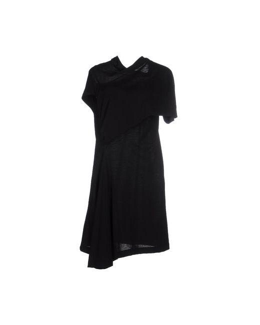 Rick Owens   Женское Чёрное Короткое Платье