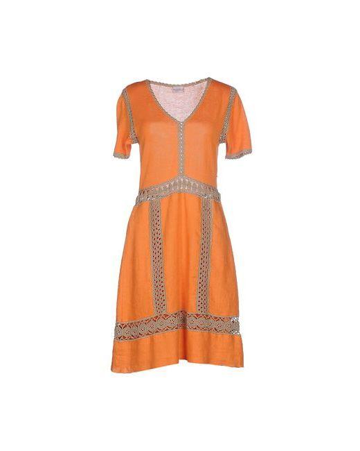 Philosophy Di Alberta Ferretti | Женское Оранжевое Короткое Платье