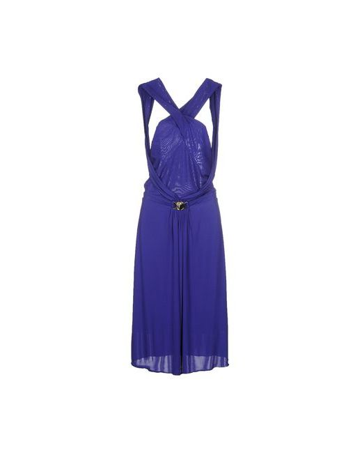 Versace Collection   Женское Фиолетовое Платье До Колена