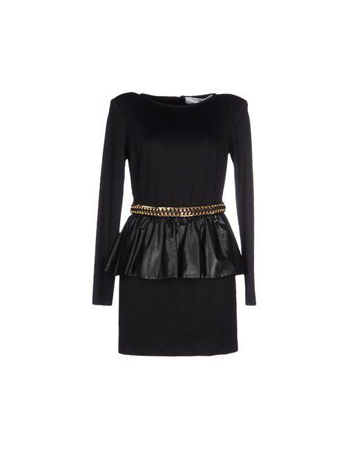 ELISABETTA FRANCHI | Женское Чёрное Короткое Платье