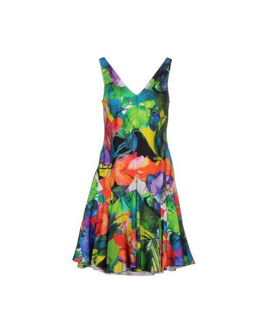 Ralph Lauren Black Label | Женское Зелёное Короткое Платье