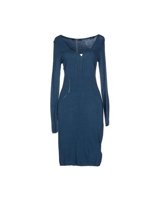 Guess | Женское Синее Короткое Платье