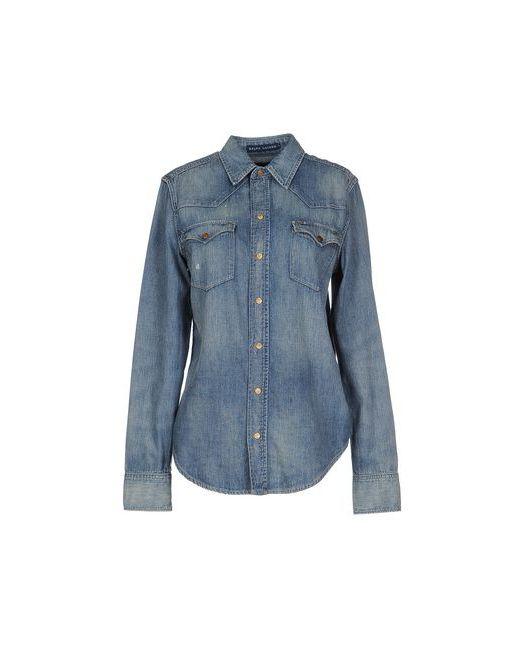 Ralph Lauren   Женская Синяя Джинсовая Рубашка