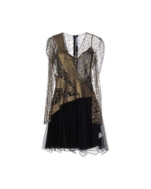 Blumarine | Женское Золотистое Короткое Платье